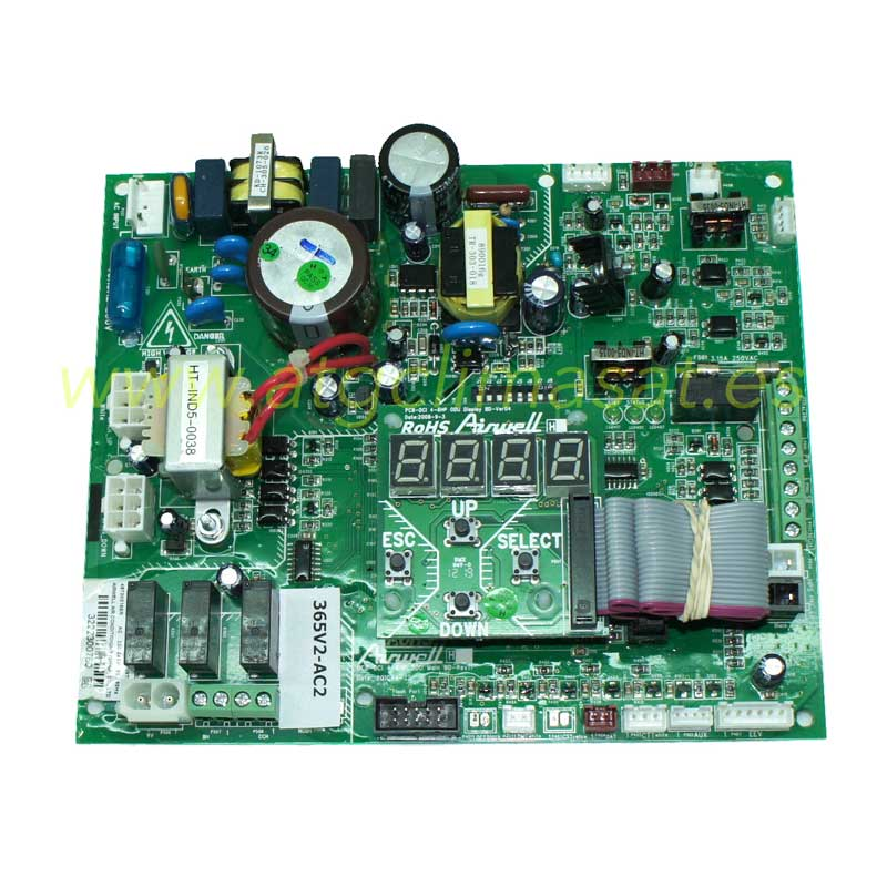 Placa principal GC 36-43 DCI / R410 - 7SP061675-4673001863