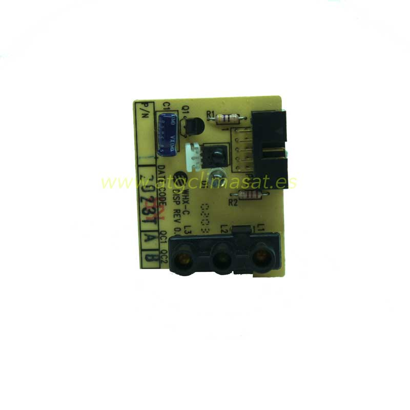 Placa display/receptora MNE 46-(100204)